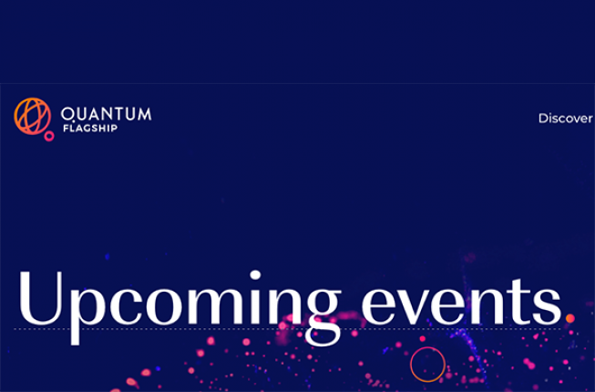 Collegamento a Upcoming events about Quantum Technologies